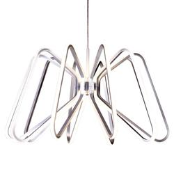 Suspension led Lo Destock Nickel Métal LMD5819 SILVER