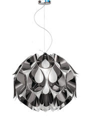 Suspension led Slamp Flora Chrome Technopolymère FLO85SOS0002PE000