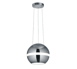 Suspension led Trio Balloon Chrome Métal 376110106