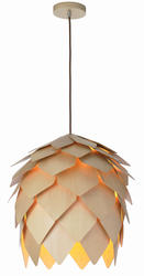 Suspension scandinave Lo design Naturel Beige Bois LO00011319