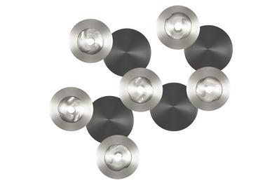 applique 6 lampes design cvl dots laiton massif dots d 6l m t ore appliques design chez. Black Bedroom Furniture Sets. Home Design Ideas