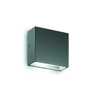 Applique extérieure contemporaine Ideal lux Tetris Gris anthracite Aluminium 113753