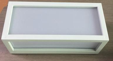 Applique Extérieure Design Lo Design Blanc 01 Fonte Daluminium