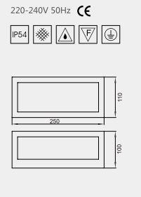 applique ext rieure design lo design gris anthracite fonte. Black Bedroom Furniture Sets. Home Design Ideas