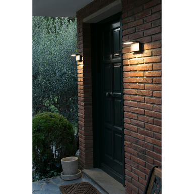 applique ext rieure led faro natron gris anthracite. Black Bedroom Furniture Sets. Home Design Ideas