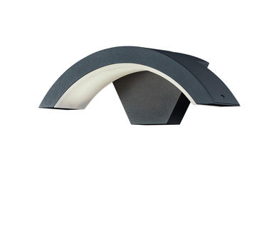 applique ext rieure led trio ohio gris anthracite. Black Bedroom Furniture Sets. Home Design Ideas