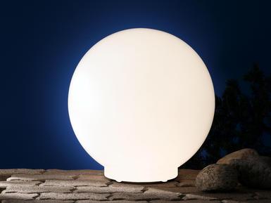 Boule extérieure lumineuse Wofi Lua Blanc Polycarbonate 8308.01 ...