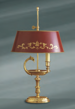Lampe bronze Lucien Gau Empire 16031_