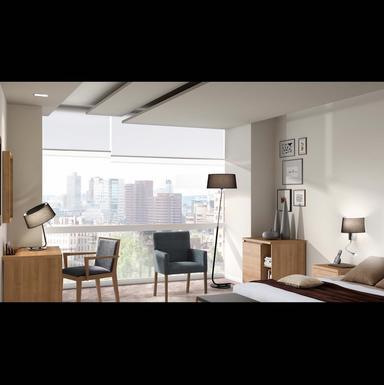 lampe design faro hotel metal tissu abat jour 29947 lampes design chez luminaires online. Black Bedroom Furniture Sets. Home Design Ideas