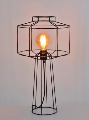 Lampe Industrielle Market Set Wayne Noir Metal Pr590106 Lampes