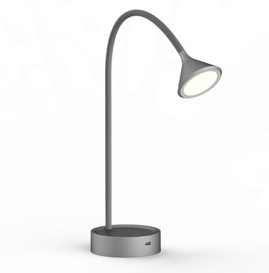 Noke Gris Lampe Luminaires Bureau Online Lo00020798 De Led Design – Chez Lampes Lo Métal HIeE29YWD