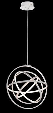 Mantra Métal 4 01 Orbital Led 5741 Lustre Lampes Blanc eBrxWQdCo