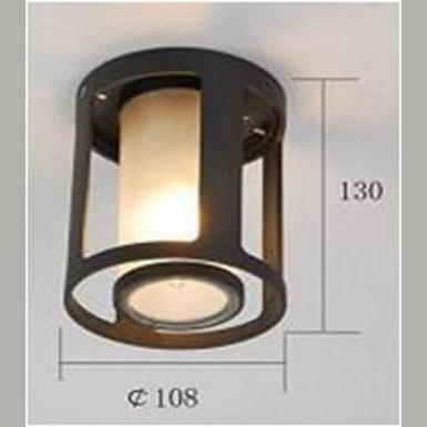 Plafonnier ext rieur contemporain lo design evi ba5 noir for Plafonnier exterieur design