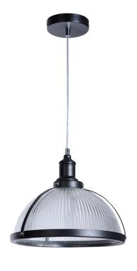 Suspension Bistrot Design Noir Corep 651298 Métal Verre K1lJFc
