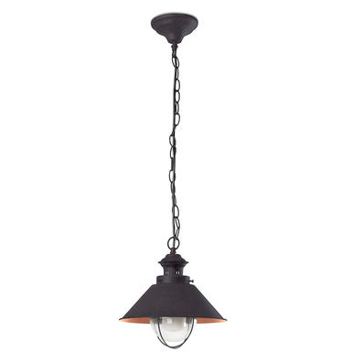 Suspension extérieure contemporaine Faro nautica Marron Métal 71108