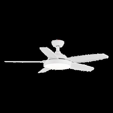 Ventilateur de plafond avec lumière LED ACB Mistral Blanc ABS V2505523B
