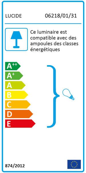 Chez Online Design Luminaires Lucide 01 Blanc Sebo Applique Métal 062180131 Appliques QrCBxodeW