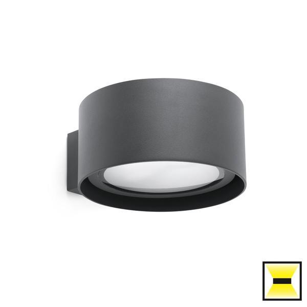 applique ext rieure led faro quart gris anthracite aluminium 70579 appliques ext rieures led. Black Bedroom Furniture Sets. Home Design Ideas