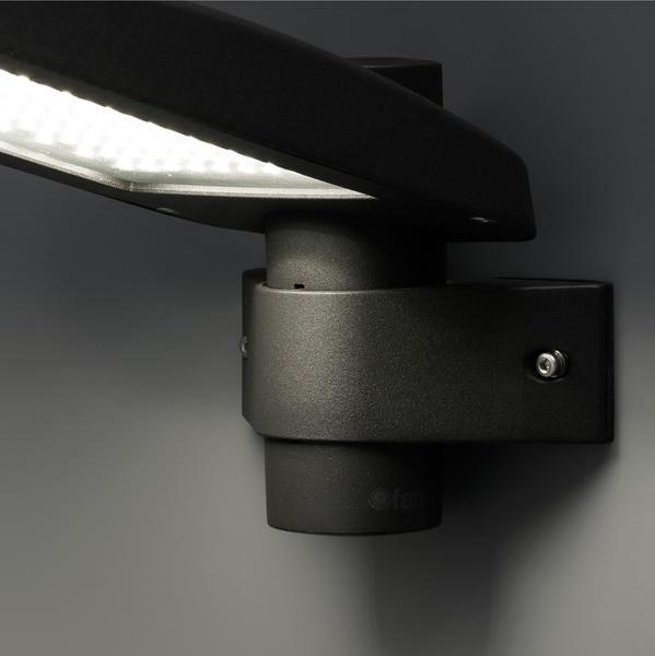 applique ext rieure led faro yak gris anthracite aluminium. Black Bedroom Furniture Sets. Home Design Ideas
