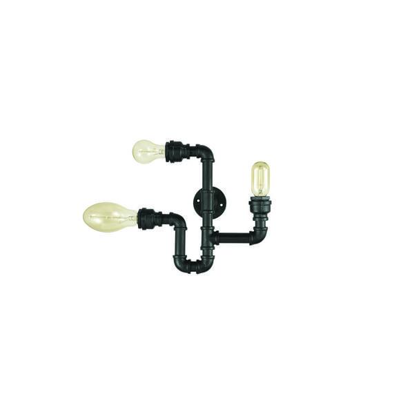 Applique indudtrielle Ideal lux Plumber Noir Métal 142517