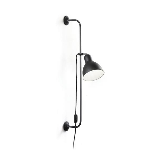Applique industrielle Ideal lux Shower Noir Métal 179643