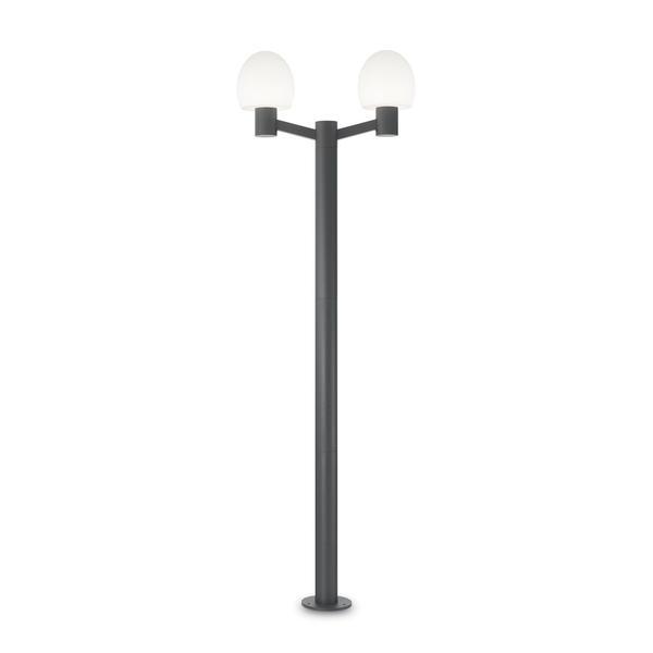 Extérieur 147208 Ideal Concerto Lampes – Lampadaires Contemporains Anthracite Extérieurs Lampadaire Chez 2 Lux Gris Contemporain Aluminium vwm8nN0