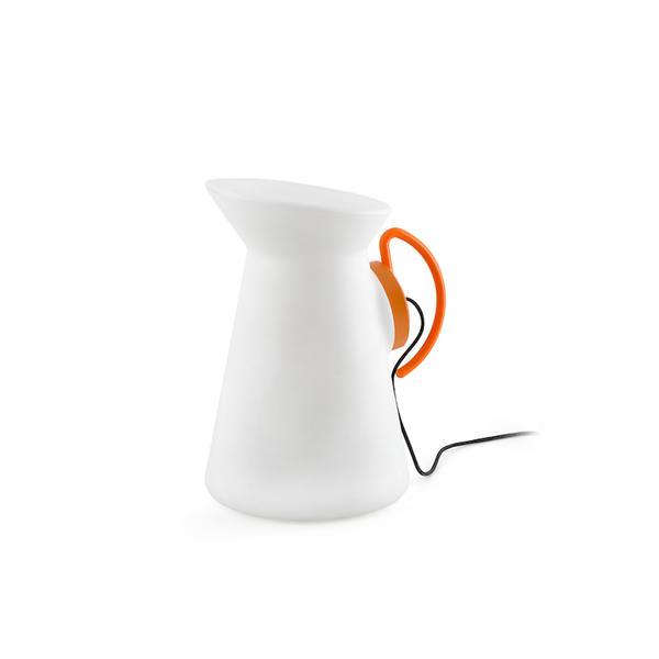 Lampe ext rieure contemporaine faro jarret orange for Lampe exterieure contemporaine