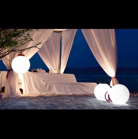 Lampe ext rieure design faro nuk gris 70486 objets - Lampe exterieure design ...