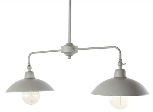 Lustre Deux Lampes