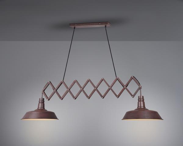 Industriels Online 305300224 Design Lampes Plafonnier Rouille Métal nN0w8vmO