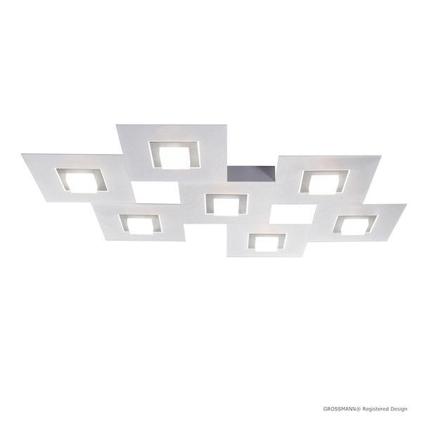 7 Lampes Karree Aluminium 783 Grossmann 77 Plafonnier Led 8kX0OwnP