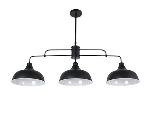 650522 3 Suspension Corep Lampes Noir Lincoln Métal Design Yy6vgbf7