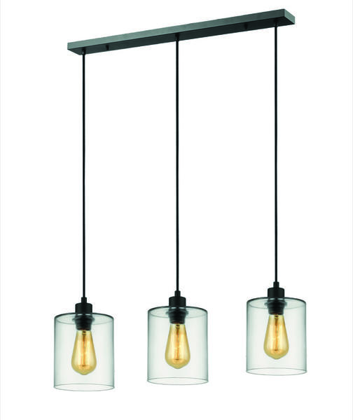 Lampes Design Set Suspension Ilo Noir Métal Market 3 Pr590086 eodCBxrW