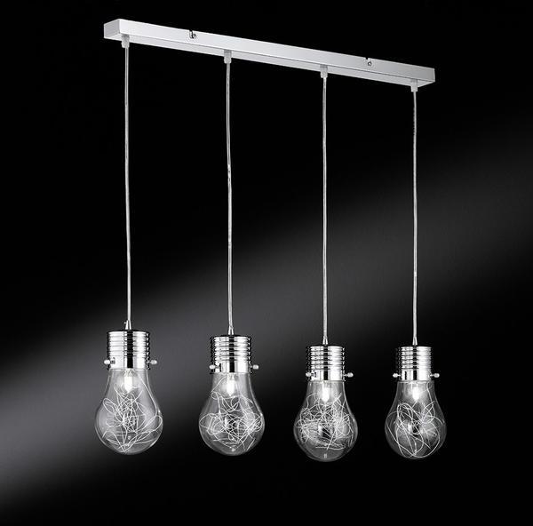 4 Industrielle 700304010150 Suspension Action Futura Chrome Lampes thrdCsQ