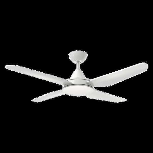 Ventilateur de plafond avec lumière LED ACB Tramontana Blanc ABS V2510540B